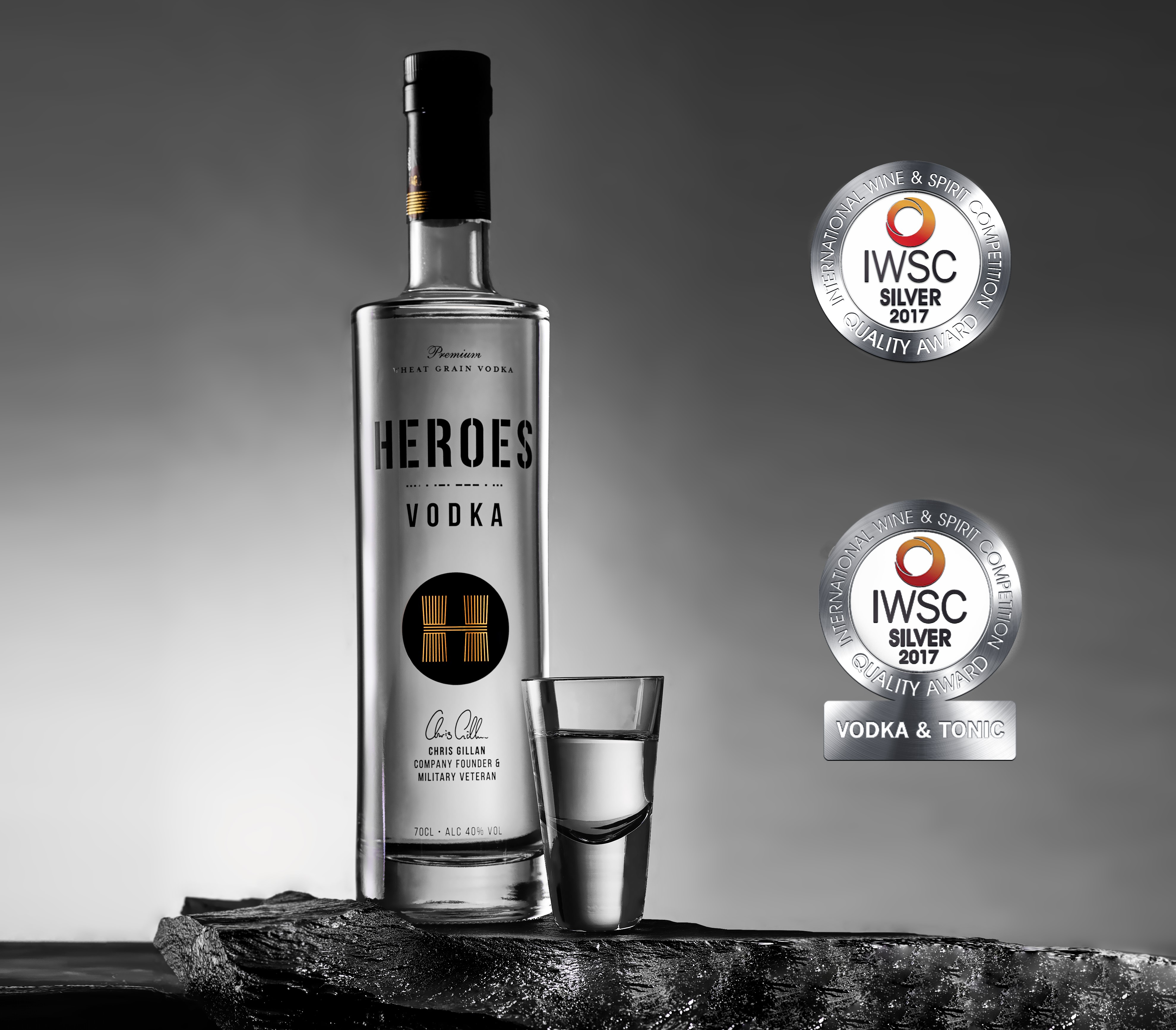 Heroes Vodka - Ideal Father's Day gifts for soldiers