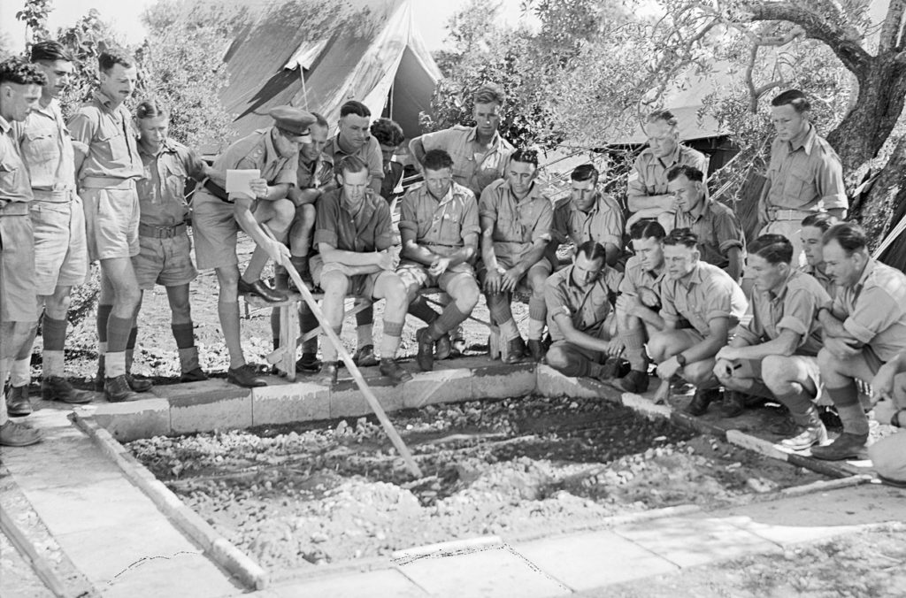 A Sand Table MODEX - Historical mission command training