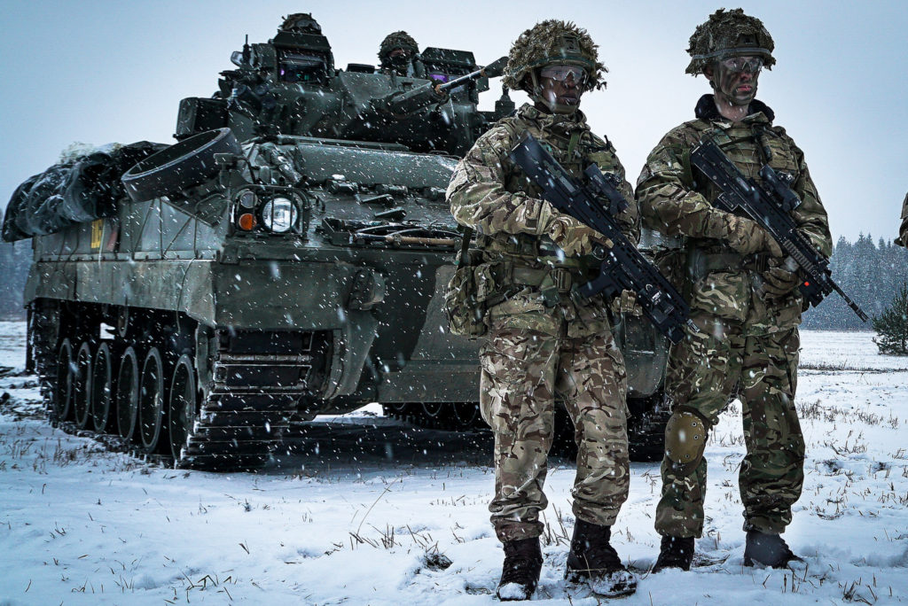 Know Your Role! British Soldiers in Estonia