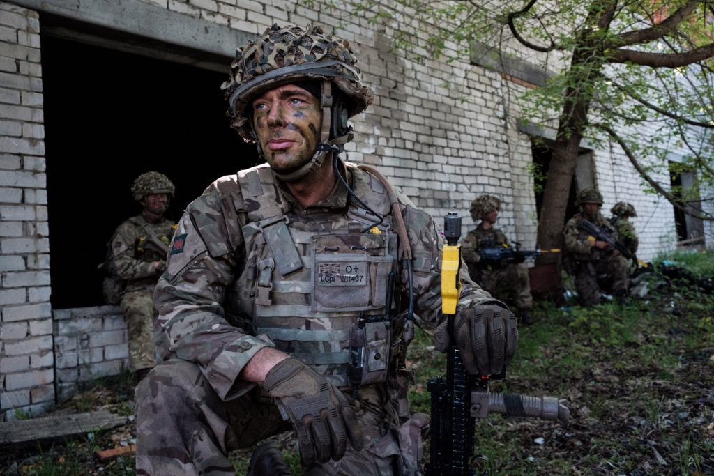British Soldier in NATO Derail Leadership Furnham