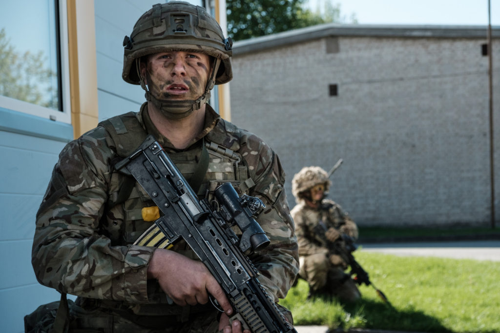 Specialised Infantry soldiers