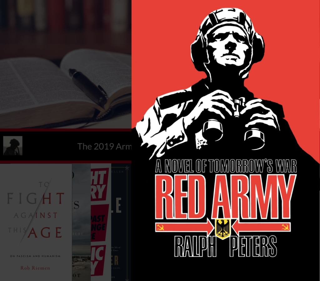 The Army Leader's Christmas Leadership Book List Tim Heck Red Army Novel