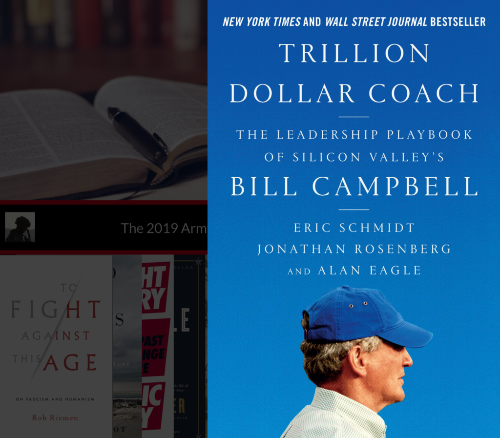 The Army Leader's Christmas Leadership Book List Trillion Dollar Coach Sarah Cox