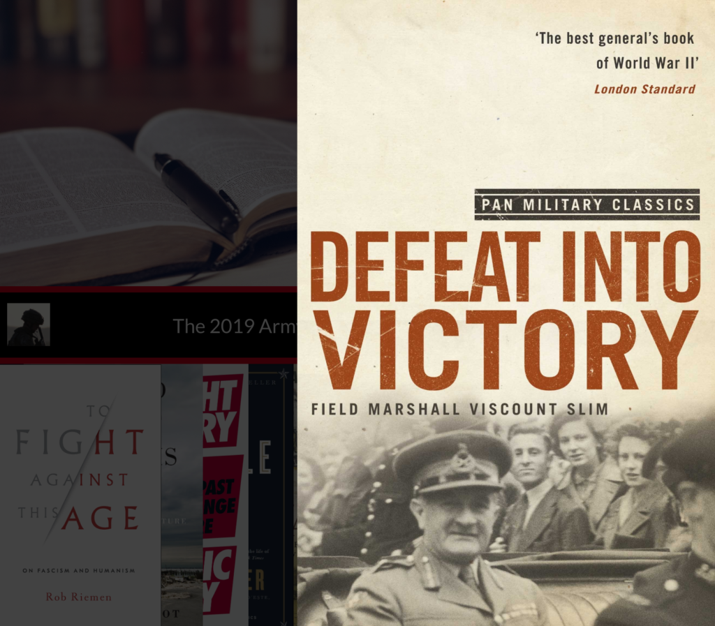 The Army Leader's Christmas Leadership Book List Defeat into Victory