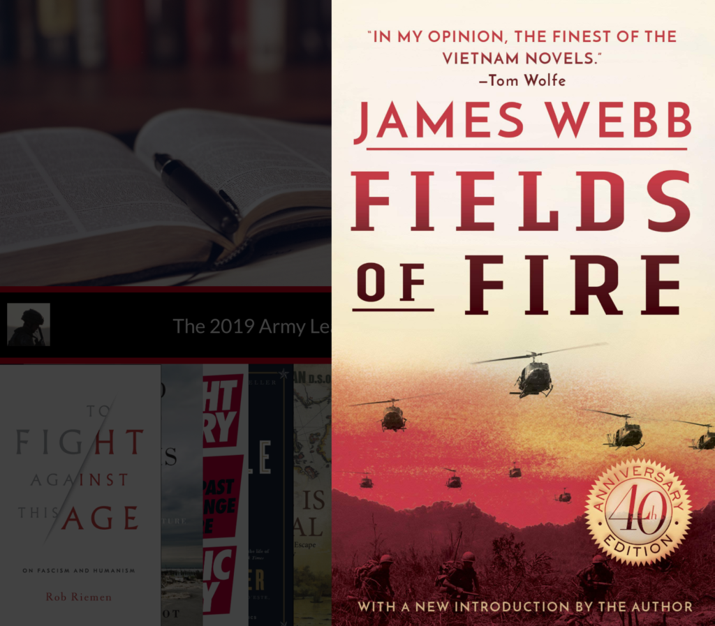 The Army Leader's Christmas Leadership Book List Fields of Fire